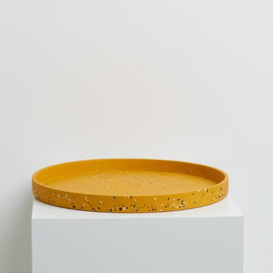 Terrazzo Tray in Golden by Capra Designs