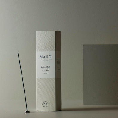 MAHO incense in white musk