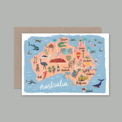 Australia Card by AHD Paper Co
