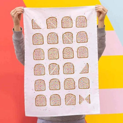 Make Me Iconic FAIRY BREAD Tea Towel