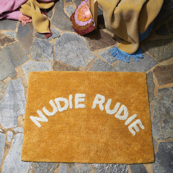 Nudie Rudie Bath Mat by Sage + Clare-Sage + Clare-Burbridge and Burke