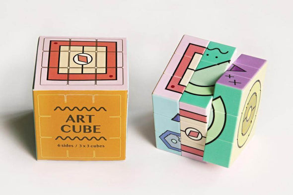 Journey of Something Art Cube - Crazy Candy