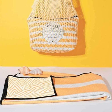 The Burleigh Beach Towel by Sky Gazer