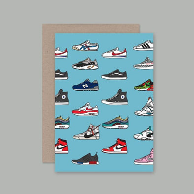 Trainers Card by AHD Paper Co