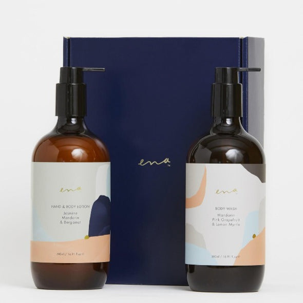 Ena body spa gift box in citrus