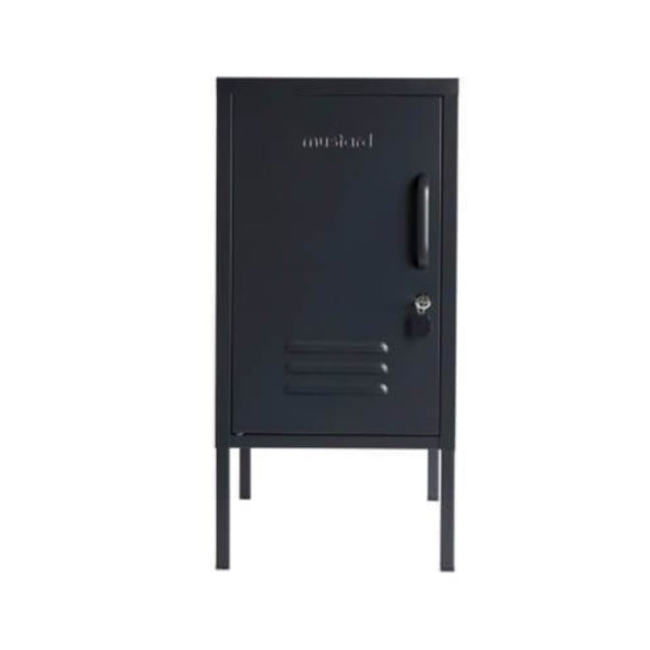 SHORTY LOCKER IN SLATE BY MUSTARD MADE