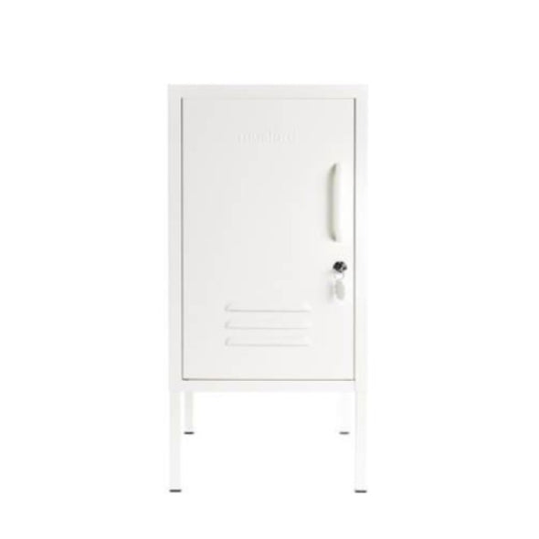 SHORTY LOCKER IN WHITE BY MUSTARD MADE