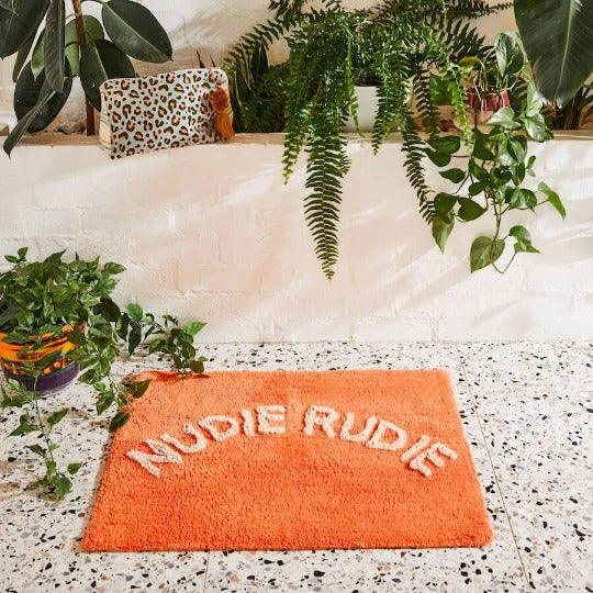 Nudie Rudie Bath Mat Navy