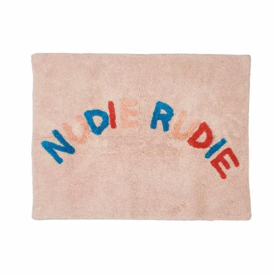 Nudie Rudie Bath Mat in Soleil by Sage + Clare