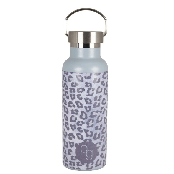 Insulated Stainless Steel Water Bottle in Snow Leopard by Porter Green