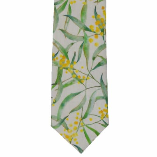 Wattle Cotton Tie by Peggy and Finn