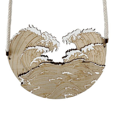 Make A Splash Neck Piece in Natural by Burbridge + Burke