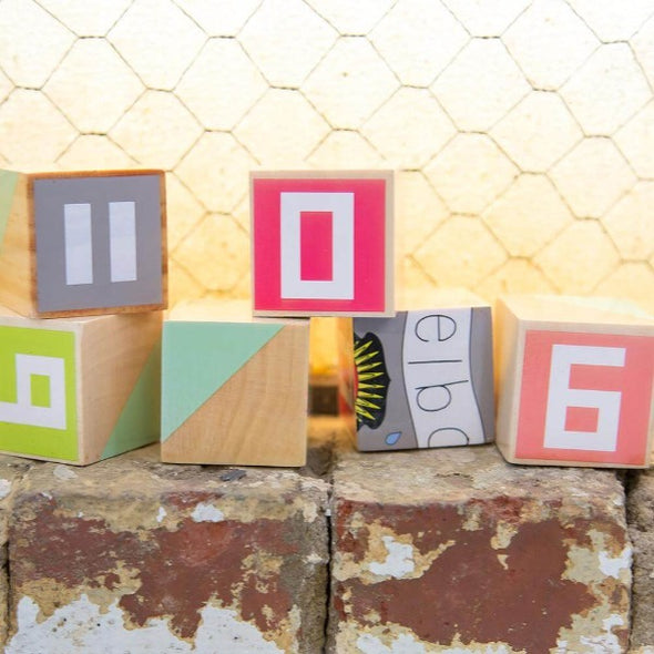 Iconic Australian stacking blocks by Make Me Iconic