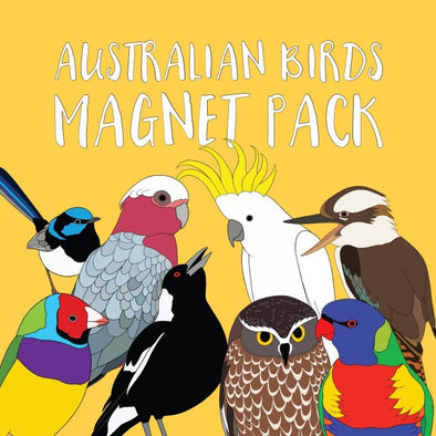 Australian Birds magnet set by Red Parka