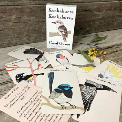 Kookaburra Card Game by Bridget Farmer