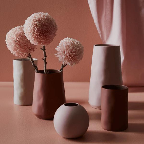 Small Cloud Bubble Vase in Icy Pink by Marmoset Found