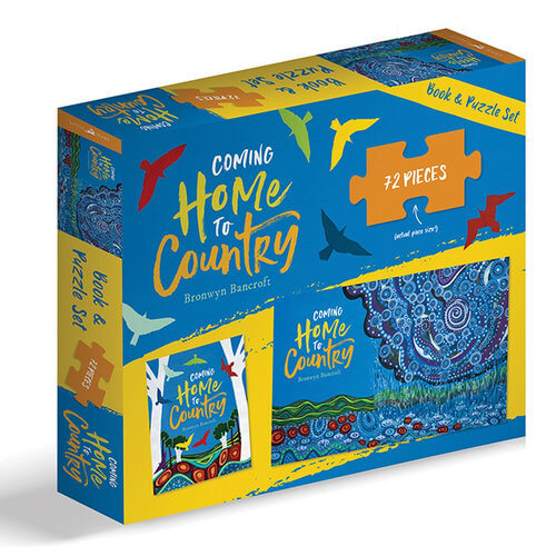Coming Home To Country Book and Puzzle Set by Bronwyn Bancroft
