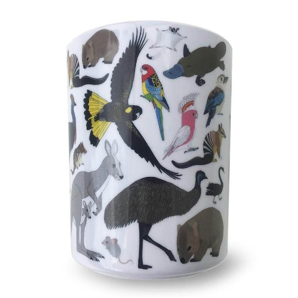 Australian animal 3 piece melamine set by Red Parka