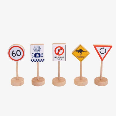 Aussie Road Signs by Make Me Iconic