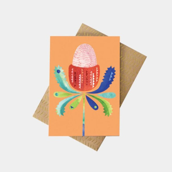 Pete Cromer Banksia greeting card