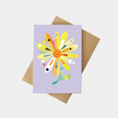 Pete Cromer Bush Daisy greeting card