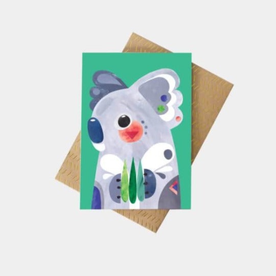 Pete Cromer Koala Greeting Card
