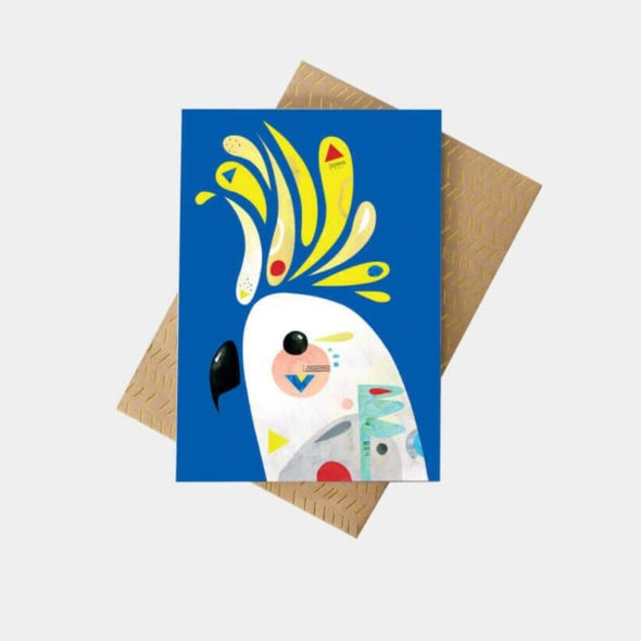 Pete Cromer Cockatoo greeting card