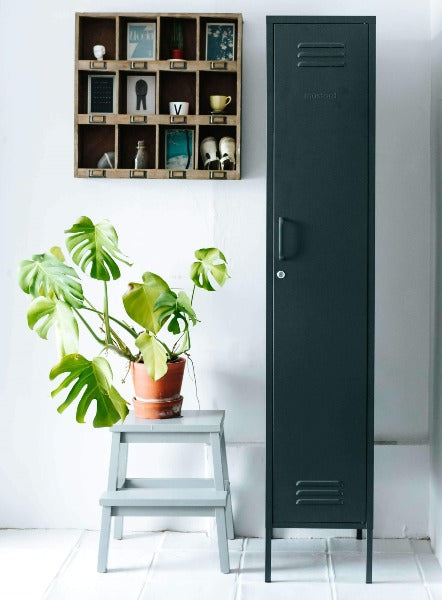 The Skinny Locker In Slate by Mustard Made