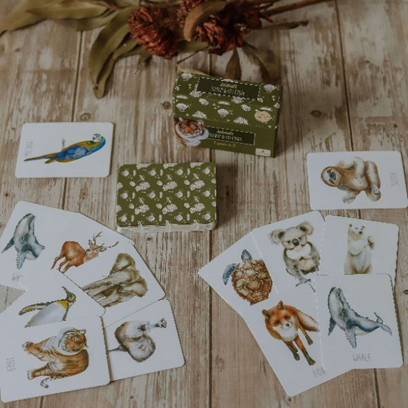 Animals snap and go fish by modern monty
