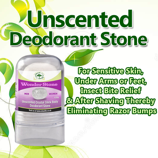 Natural Deodorant Crystal Mineral stone