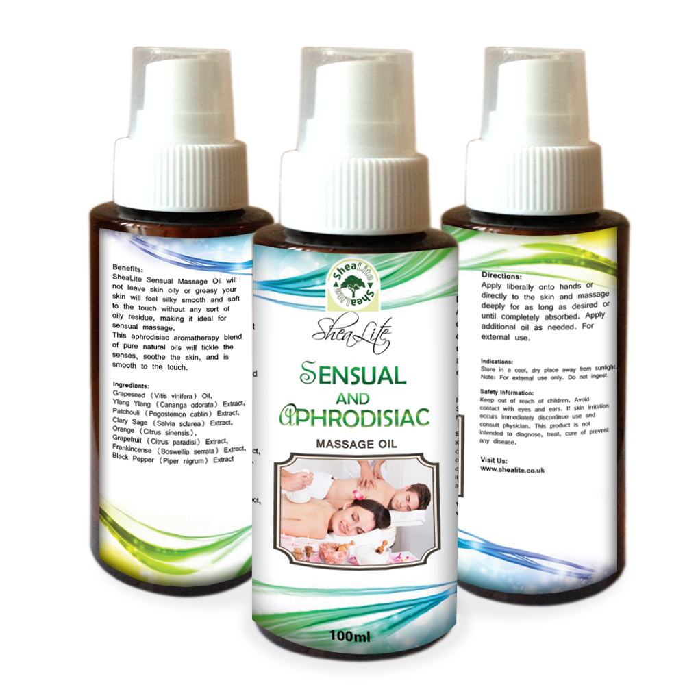 Sensual Massage Oil & DVD Kit