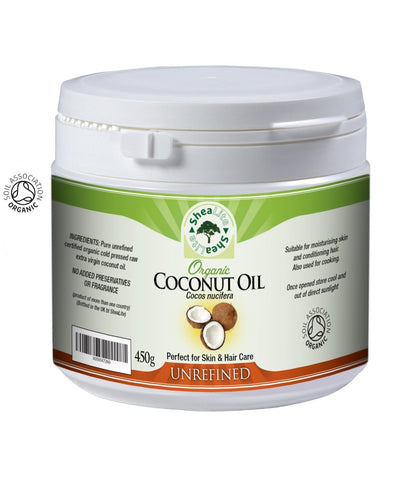 Unrefined Extra Virgin Organic Coconut Oil