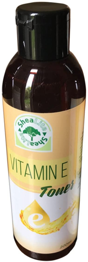SheaLite Vitamin E Facial Toner – 100% Natural & Organic Anti Aging Face Cleanser