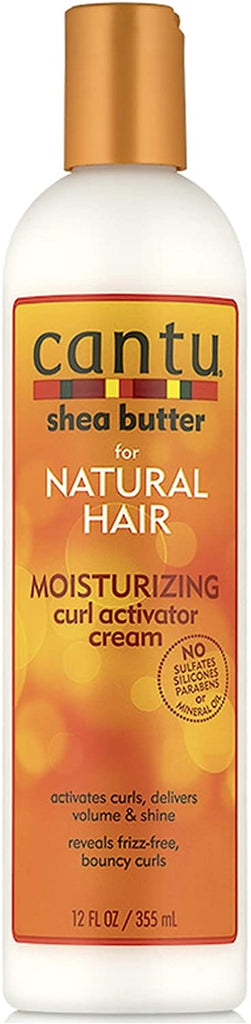 Cantu Avacado Curling Cream, Cantu Shea Butter Leave-In Repair Cream & Cantu Shea Butter Curl Activator Cream (Set of 3)