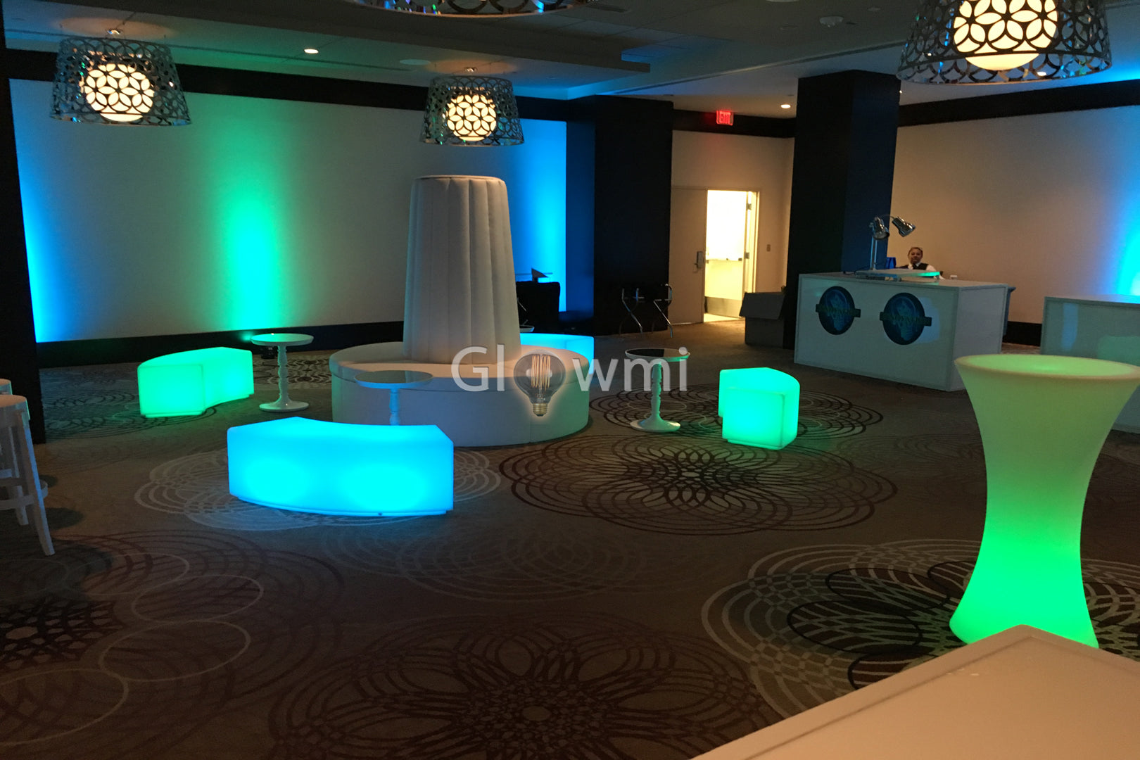 Glow Furniture Glowmi Led Furniture Decor Corporate Events Photo Video