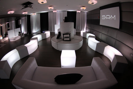 LED Accent Furniture VIP Lounge