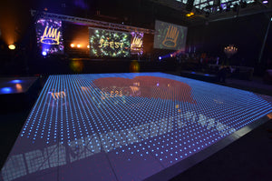 LED Digital Starlight Dancefloor - White