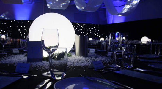 LED Sphere Centerpiece
