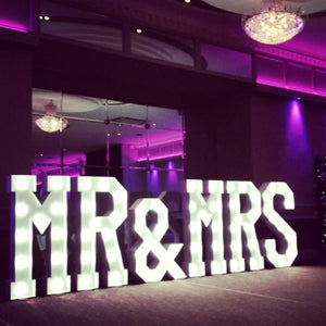 LED Marquee Letters Wedding