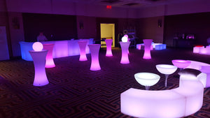 Summer LED Glow Furniture Rental Bundle Packages