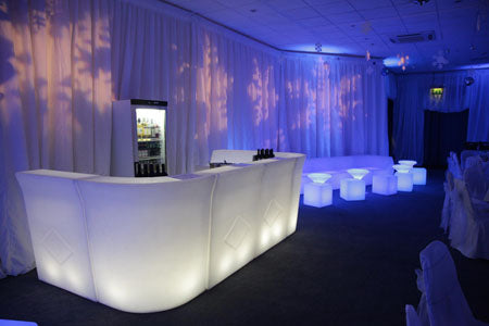 LED Glow Bar Small White