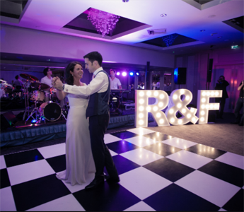 LED Personalized Marquee Letters for wedding