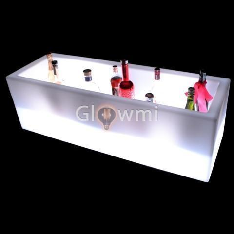 Glowmi Bar Accessories LED Ice Chest/Bottle Display