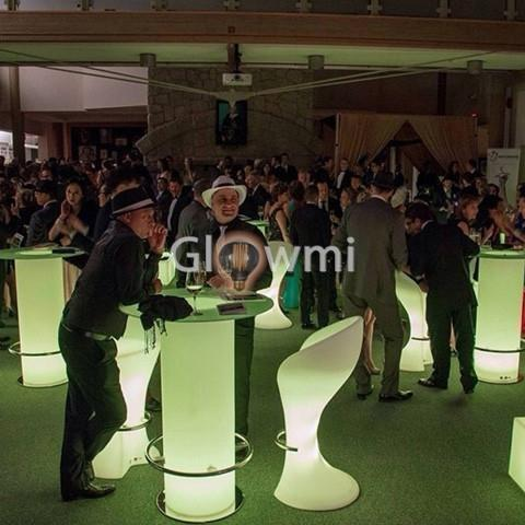 Glowmi Cruiser Tables The Asti LED Ice Bucket Cruiser Table
