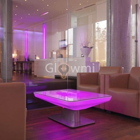 Glowmi LED Lounge/Coffee Tables Como LED Lounge/Coffee Table - S & L Sizes