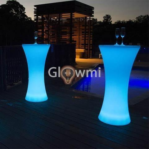 Glowmi LED Table Hourglass LED Cruiser Table