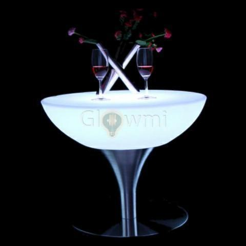 Glowmi LED Table LED Vino Round Lounge Table