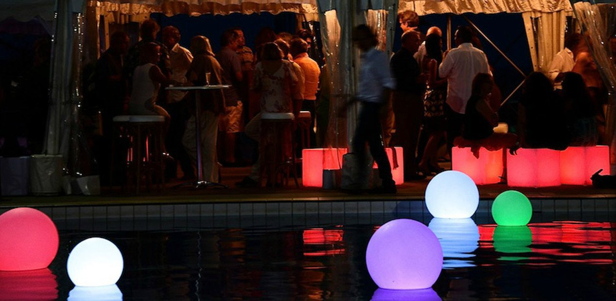 LED Glow Furniture Rental Event Picture Video Gallery