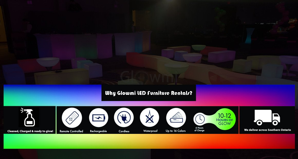 Glowmi LED Glow Furniture Product Features