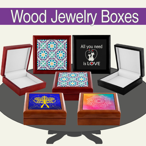 Wooden Jewel Boxes